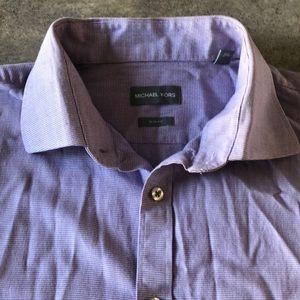 Michael Kors slim fit men's dress shirt